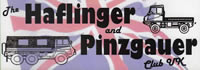 Haflinger and Pinzgauer Club - UK - Logo